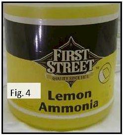 lemon-ammonia