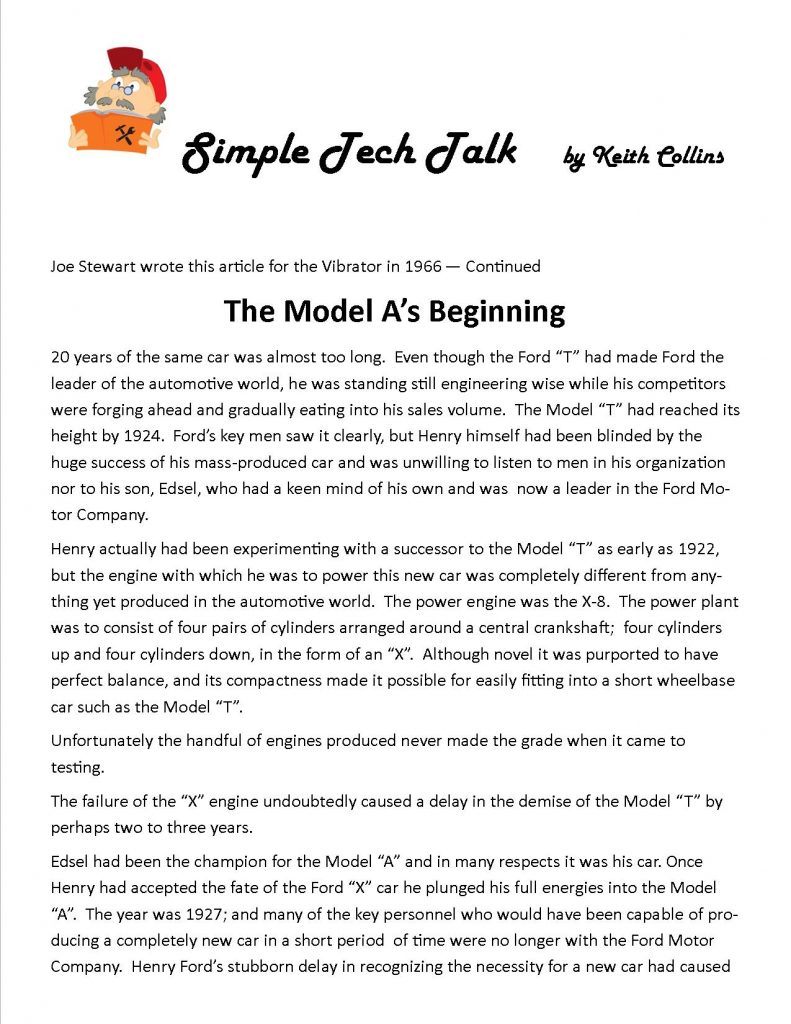 Model A Club May 2015  pg.1