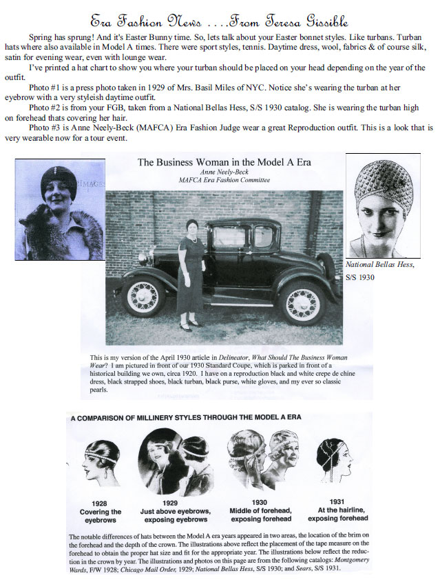 The Business Woman in the Model A Era