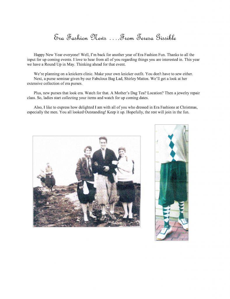 1930 Fashion Events for 2019 Model A Club, Modesto, CA