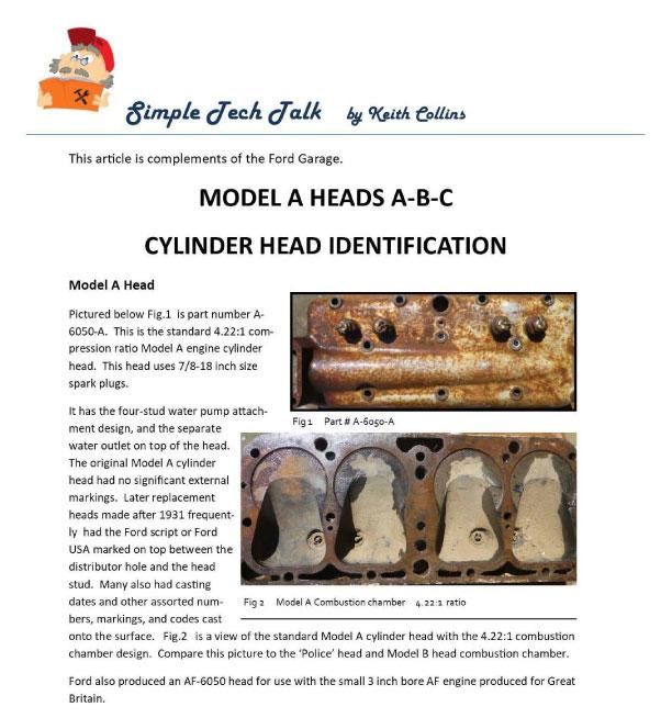 Modesto Model A Club Sept 2019 Newsletter pg 1