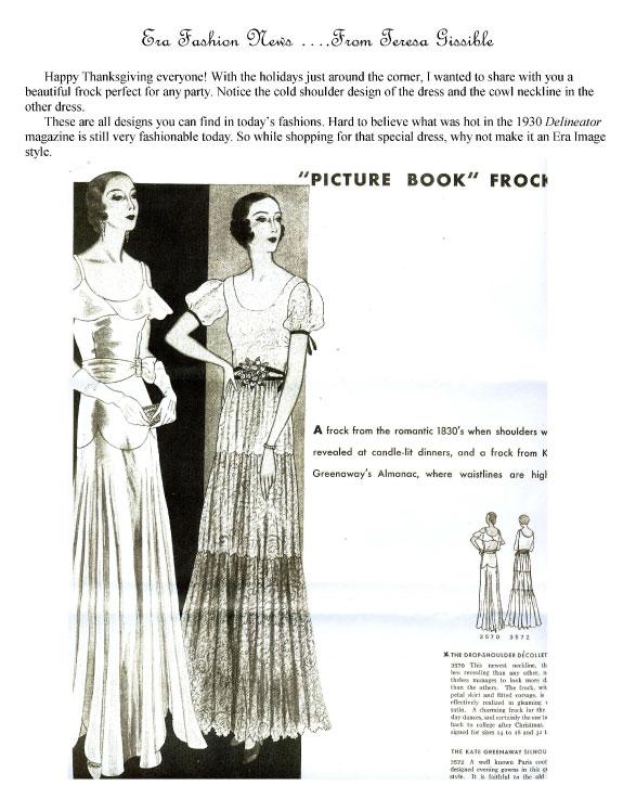 Era Frocks 1930