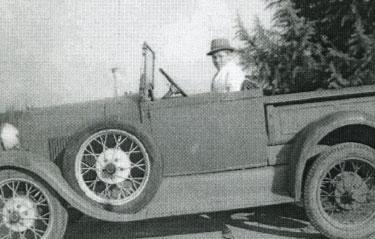 Stanley Braden Model A Ford